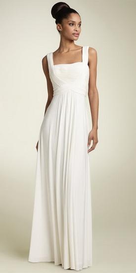 Свадебное платье в греческом стиле богиня