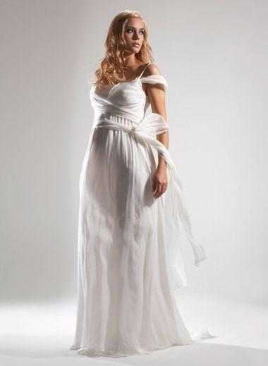c390dfe209d Купить или сшить Свадебное платье для беременных WPD - 0010 ...