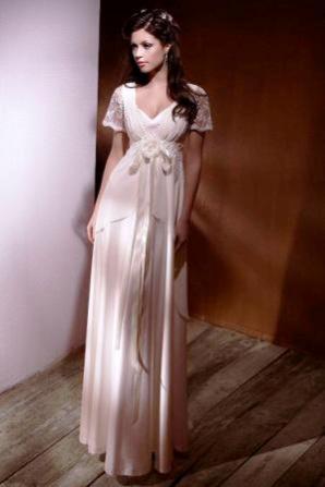 420a4367f8a Купить или сшить Свадебное платье для беременных WPD - 0020 ...