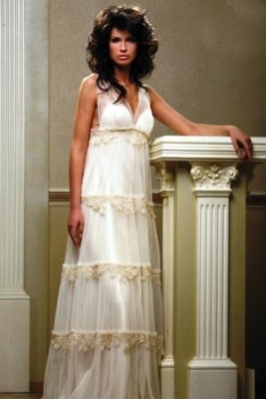 06e53957383 Купить или сшить Свадебное платье для беременных WPD - 0028 ...
