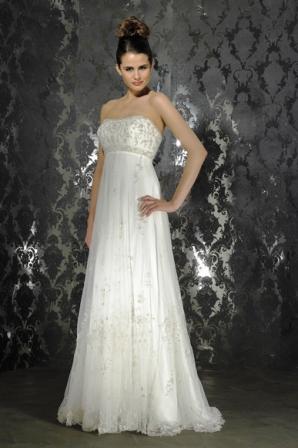 c2d4c0530f3 Купить или сшить Свадебное платье для беременных WPD - 0029 ...