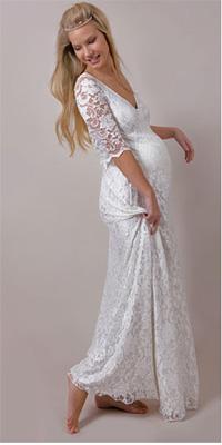 5b9b0cd5463 Купить или сшить Свадебное платье для беременных WPD - 0003 ...