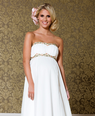 b4e11b4e946 Купить или сшить Свадебное платье для беременных WPD - 0035 ...