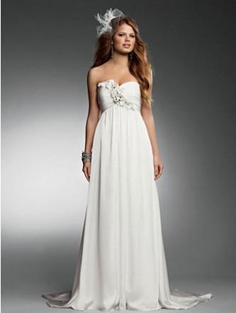 ed643bf8a7d Купить или сшить Свадебное платье для беременных WPD - 0039 ...