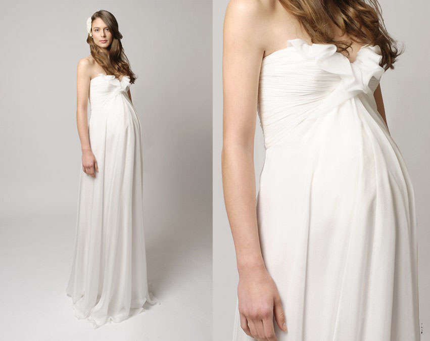 2a16707ba94 Купить или сшить Свадебное платье для беременных WPD - 0042 ...