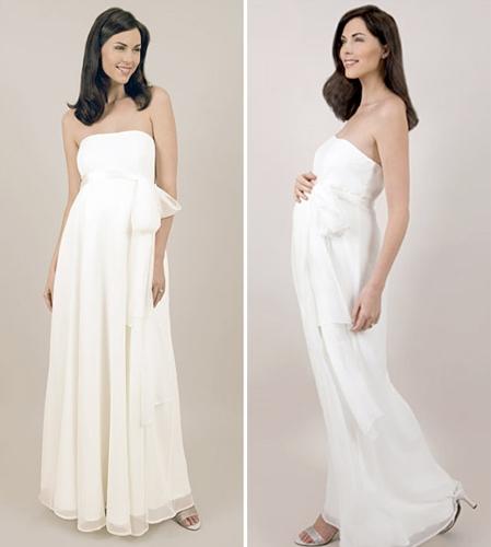 ddc3a707546 Купить или сшить Свадебное платье для беременных WPD - 0044 ...