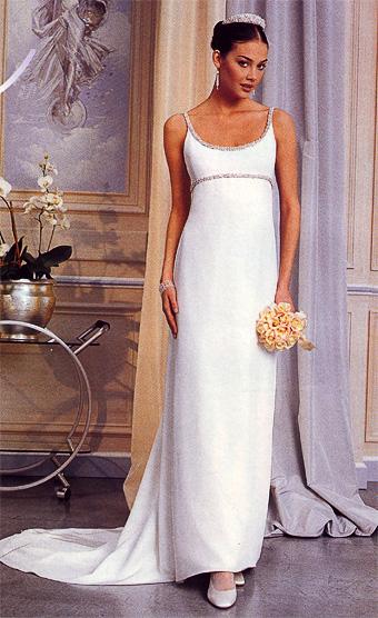 db7d86b209d Купить или сшить Свадебное платье для беременных WPD - 0048 ...