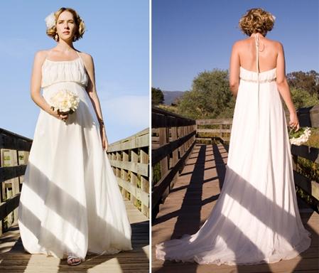 b7c4c7bfb91 Купить или сшить Свадебное платье для беременных WPD - 0050 ...