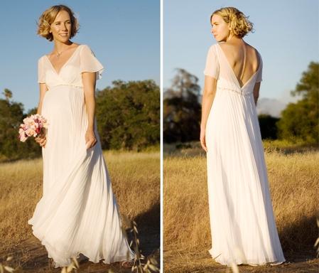 ea6f1e63276 Купить или сшить Свадебное платье для беременных WPD - 0053 ...
