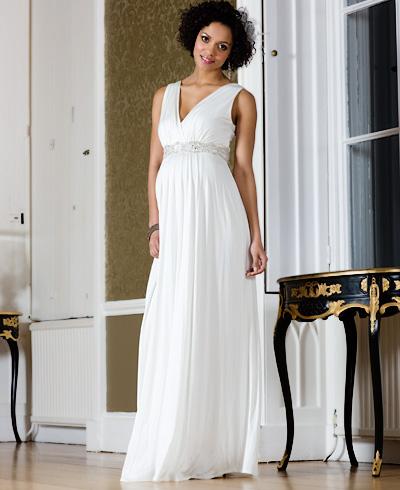 95a5c969470 Купить или сшить Свадебное платье для беременных WPD - 0055 ...