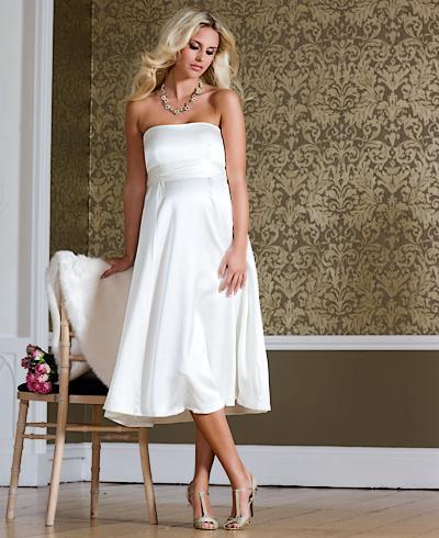 9a93ca4d292 Купить или сшить Свадебное платье для беременных WPD - 0056 ...