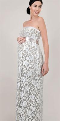 297c096e1aa Купить или сшить Свадебное платье для беременных WPD - 0006 ...