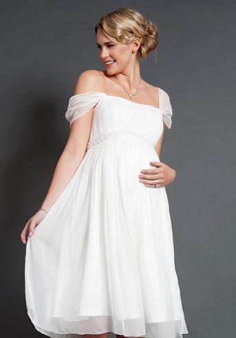 198264e664f Купить или сшить Свадебное платье для беременных WPD - 0060 ...