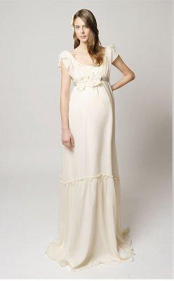 214424ccaca Купить или сшить Свадебное платье для беременных WPD - 0062 ...