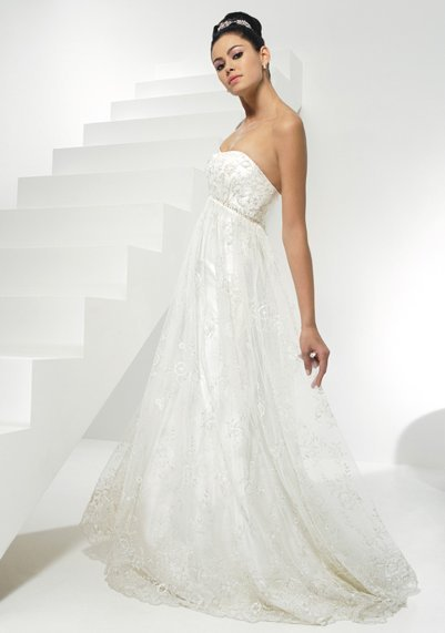 edee6bfa84d Купить или сшить Свадебное платье для беременных WPD - 0066 ...