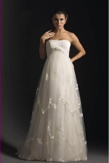 0a4ef8637fe Купить или сшить Свадебное платье для беременных WPD - 0067 ...