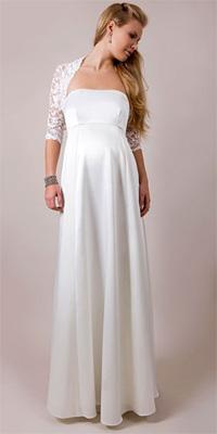 d49d4869003 Купить или сшить Свадебное платье для беременных WPD - 0007 ...