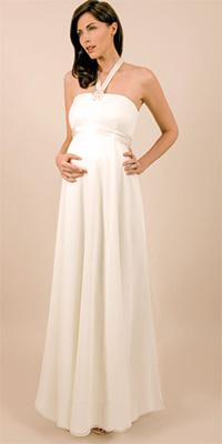 eba632a3390 Купить или сшить Свадебное платье для беременных WPD - 0009 ...